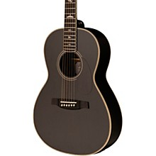 SE P20 Parlor with All Mahogany Construction and Satin Finish Acoustic Guitar Charcoal