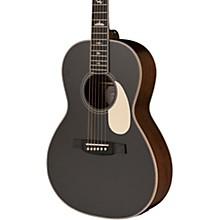 SE P20 Parlor with All Mahogany Construction and Satin Finish Acoustic Guitar Satin BlackTop