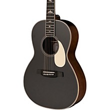 SE P20E Parlor with All-Mahogany Construction Fishman GT1 Pickup System and Satin Finish Acoustic Electric Guitar Satin BlackTop
