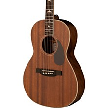 SE P20E Parlor with All-Mahogany Construction Fishman GT1 Pickup System and Satin Finish Acoustic Electric Guitar Vintage Mahogany