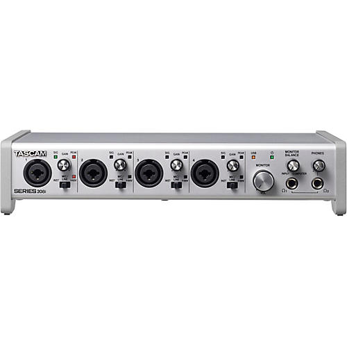 TASCAM SERIES 208i 20-In/8-Out USB Audio/MIDI Interface