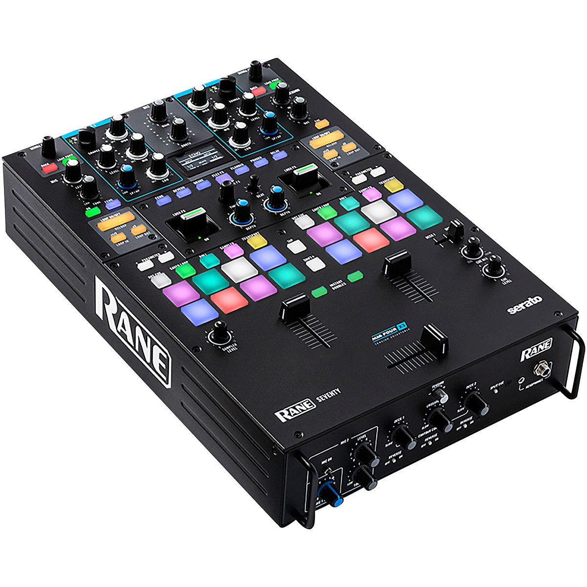 RANE DJ SEVENTY 2-Channel Battle Mixer for Serato DJ