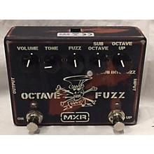MXR SF01 OCTAVE FUZZ Effect Pedal