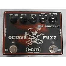 MXR SF01 SLASH OCTAE FUZZ Effect Pedal