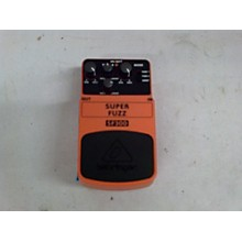 Behringer SF300 SUPER FUZZ Effect Pedal
