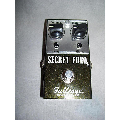 Fulltone SFQ Secret Frequency Overdrive Distortion