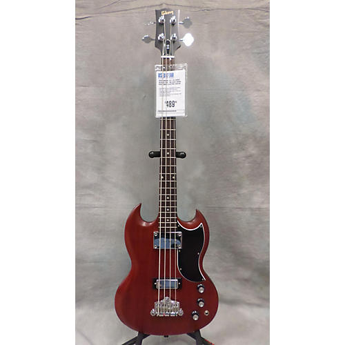 Gibson SG Bass Worn Cherry Electric Bass Guitar