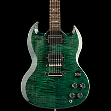 Gibson Custom SG Elegant Figured - Solid Body Electric Guitar Green