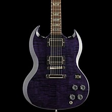 Gibson Custom SG Elegant Figured  - Solid Body Electric Guitar Midnight Blue