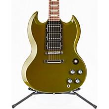 SG Standard Fat Neck 3 Pick Up Electric Guitar Antique Metallic Teal