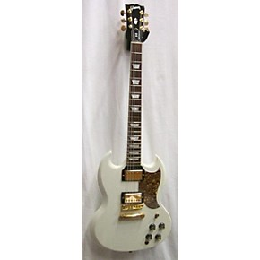 used gibson sg standard gold series solid body electric guitar alpine white guitar center. Black Bedroom Furniture Sets. Home Design Ideas