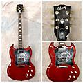 Gibson SG Standard Solid Body Electric Guitar thumbnail