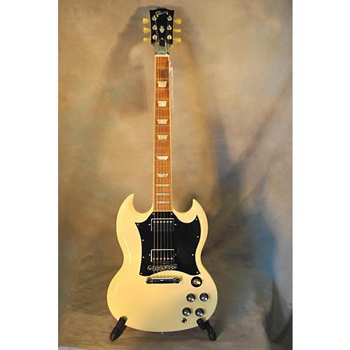sg standard vintage white solid body electric guitar guitar center. Black Bedroom Furniture Sets. Home Design Ideas