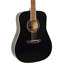 SGD-12 Dreadnought Acoustic Guitar Black