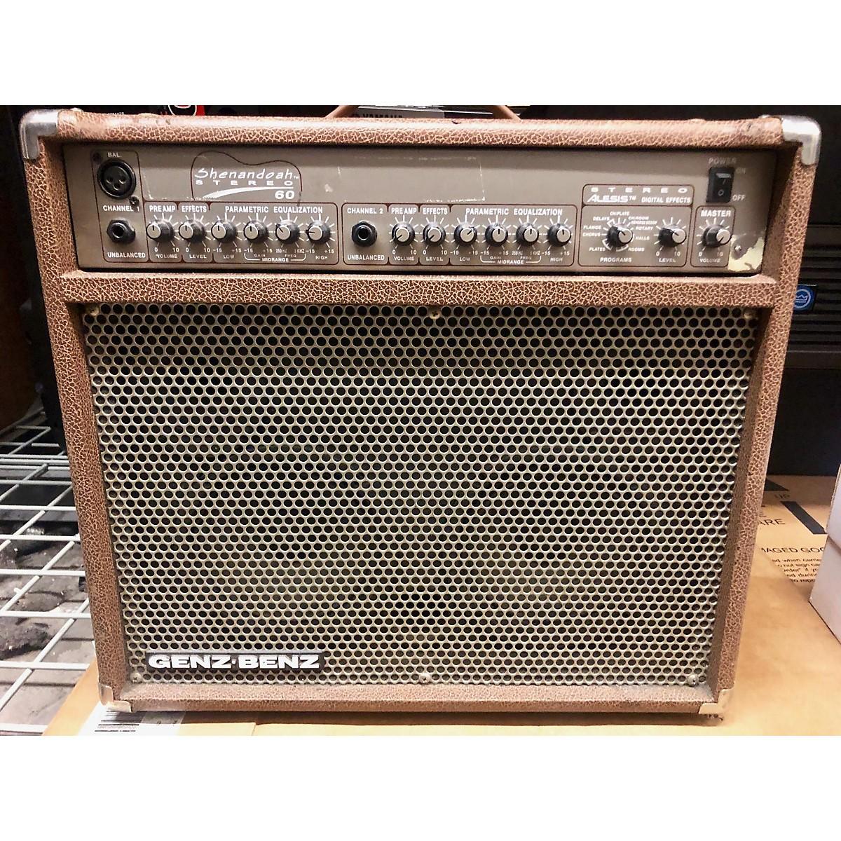 Genz Benz SHENANDOAH STEREO 60 Acoustic Guitar Combo Amp