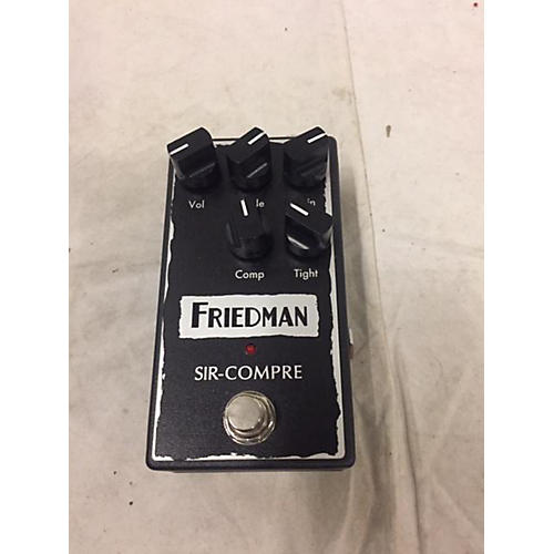 Friedman SIR-COMPRE Effect Pedal
