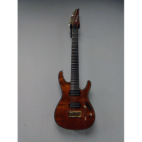 Ibanez SIX27FDBG Iron Label 7 String Solid Body Electric Guitar