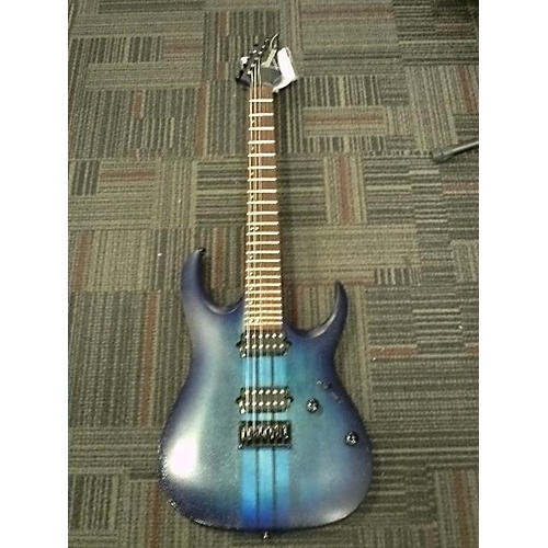 used ibanez six6fdfm solid body electric guitar blue to black fade guitar center. Black Bedroom Furniture Sets. Home Design Ideas