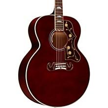 SJ-200 Standard Acoustic-Electric Guitar Wine Red