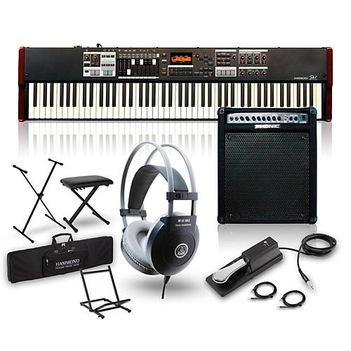 Hammond SK1-88 Keyboard Package