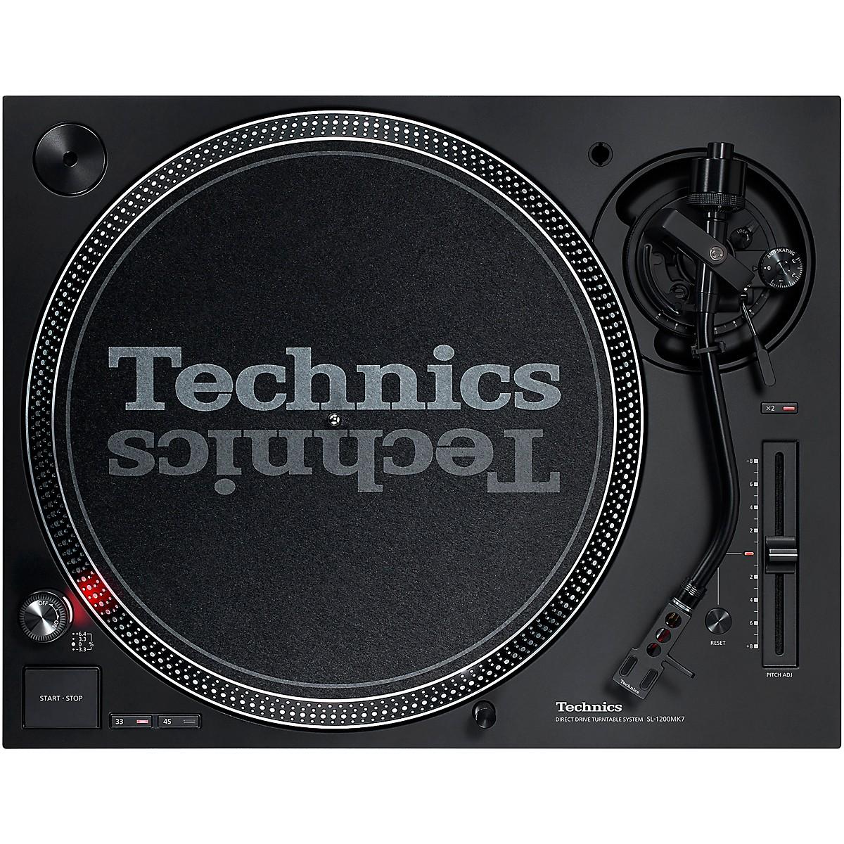 Technics SL-1200MK7 Direct-Drive Professional DJ Turntable