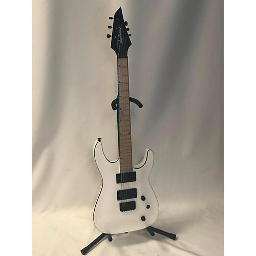 used jackson slattxmg3 soloist solid body electric guitar snow white guitar center. Black Bedroom Furniture Sets. Home Design Ideas