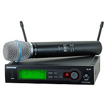 Shure SLX24/BETA87A Wireless Mic Sys
