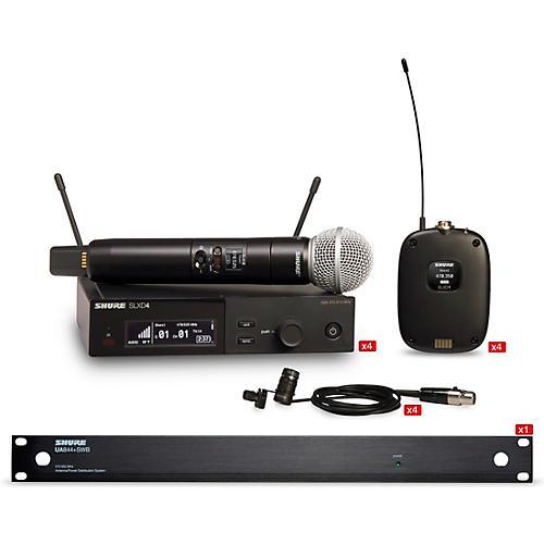 Shure SLXD 4 Combo System Wireless Bundle