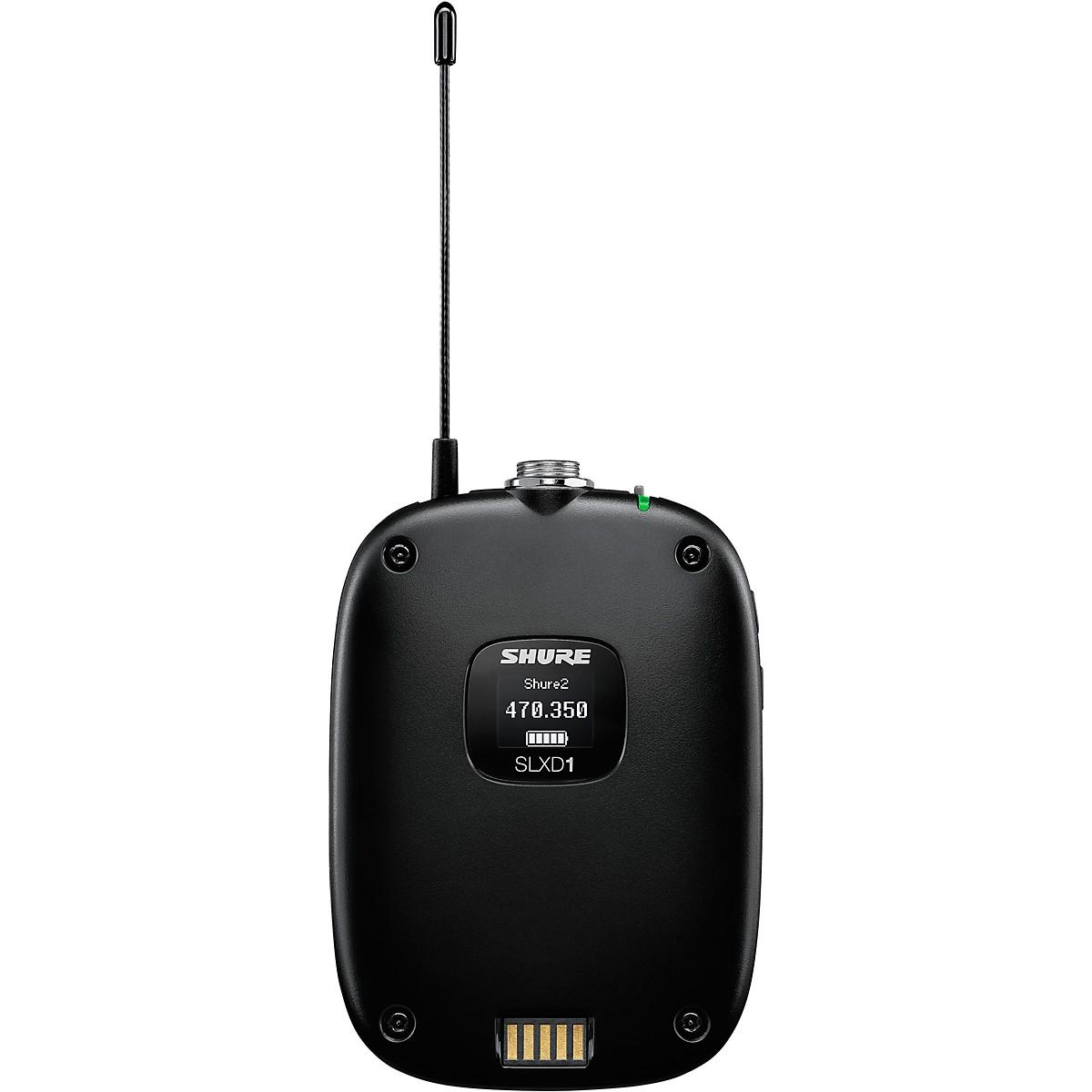 Shure SLXD1 Bodypack Wireless Transmitter