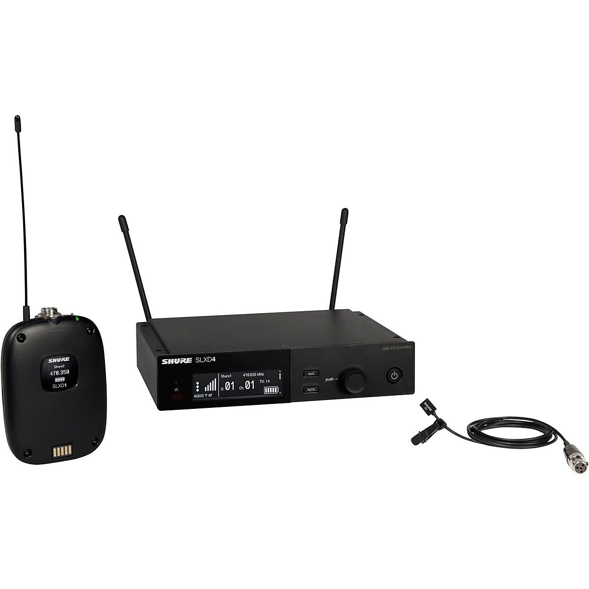 Shure SLXD14/93 Combo Wireless Microphone System