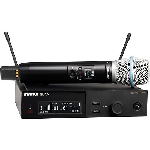 Shure SLXD24/B87A Wireless Microphone System