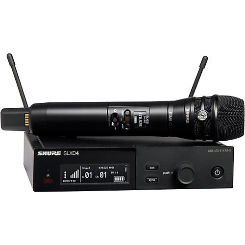 Shure SLXD24/K8B Wireless Vocal Microphone System with KSM8