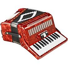 SofiaMari SM-2648, 26 Piano 48 Bass Accordion Level 1 Red Pearl