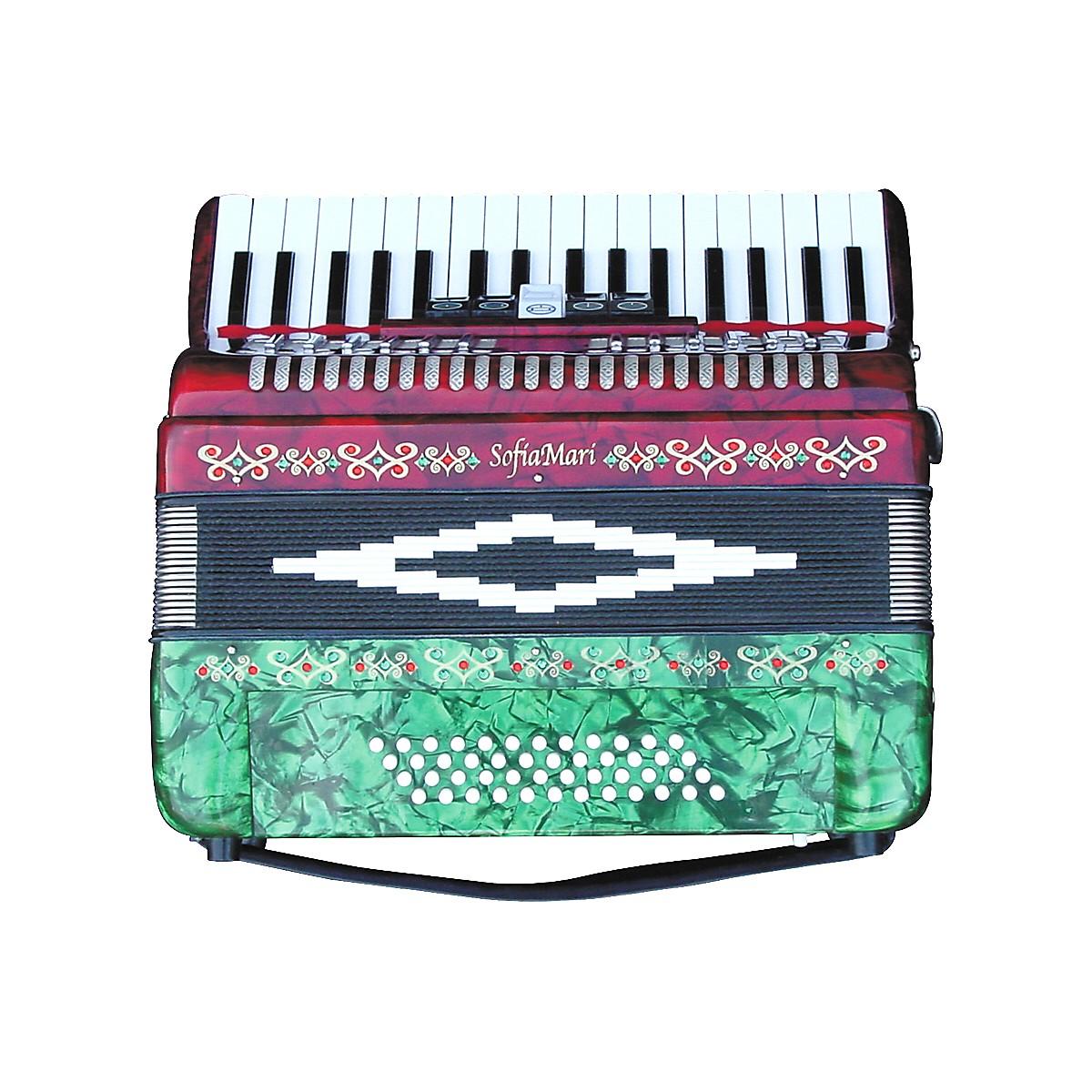SofiaMari SM-3448 34 Piano 48-Bass Accordion