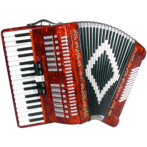 SofiaMari SM 3472 34 Piano 72 Bass Button Accordion
