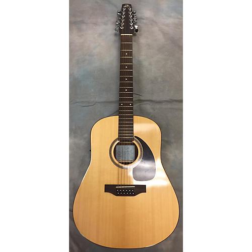 used seagull sm12 spruce 12 string acoustic electric guitar guitar center. Black Bedroom Furniture Sets. Home Design Ideas