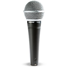 shure sm48 cardioid dynamic vocal microphone guitar center. Black Bedroom Furniture Sets. Home Design Ideas