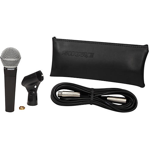 Shure SM58 Microphone with 25' Mic Cable