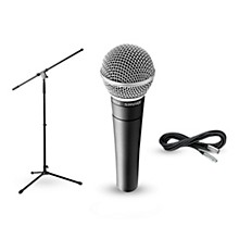 Shure SM58, Stand & Cable Package