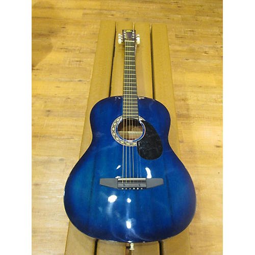 Rogue SO-069-RAG-BL Blue Acoustic Guitar