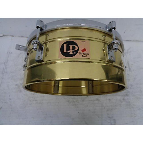 LP SOLID BRASS TIMBALE Timbales