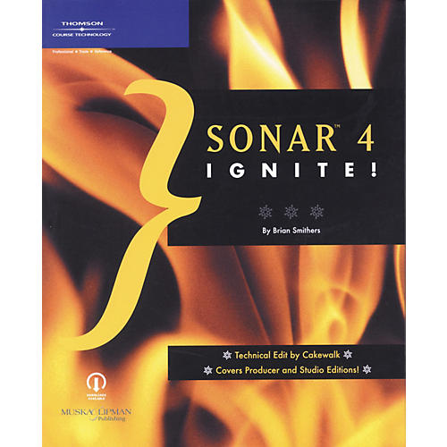 Course Technology PTR SONAR 4 Ignite! Book