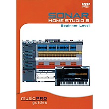 Hal Leonard SONAR Home Studio 6 Beginner Level (Music Pro Guides) Music Pro Guide Books & DVDs Series DVD by Various
