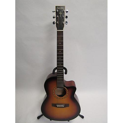used simon patrick songsmith folk cw acoustic electric guitar 2 color sunburst guitar center. Black Bedroom Furniture Sets. Home Design Ideas