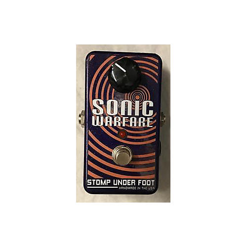 Stomp Under Foot SONIC WARFARE Effect Pedal