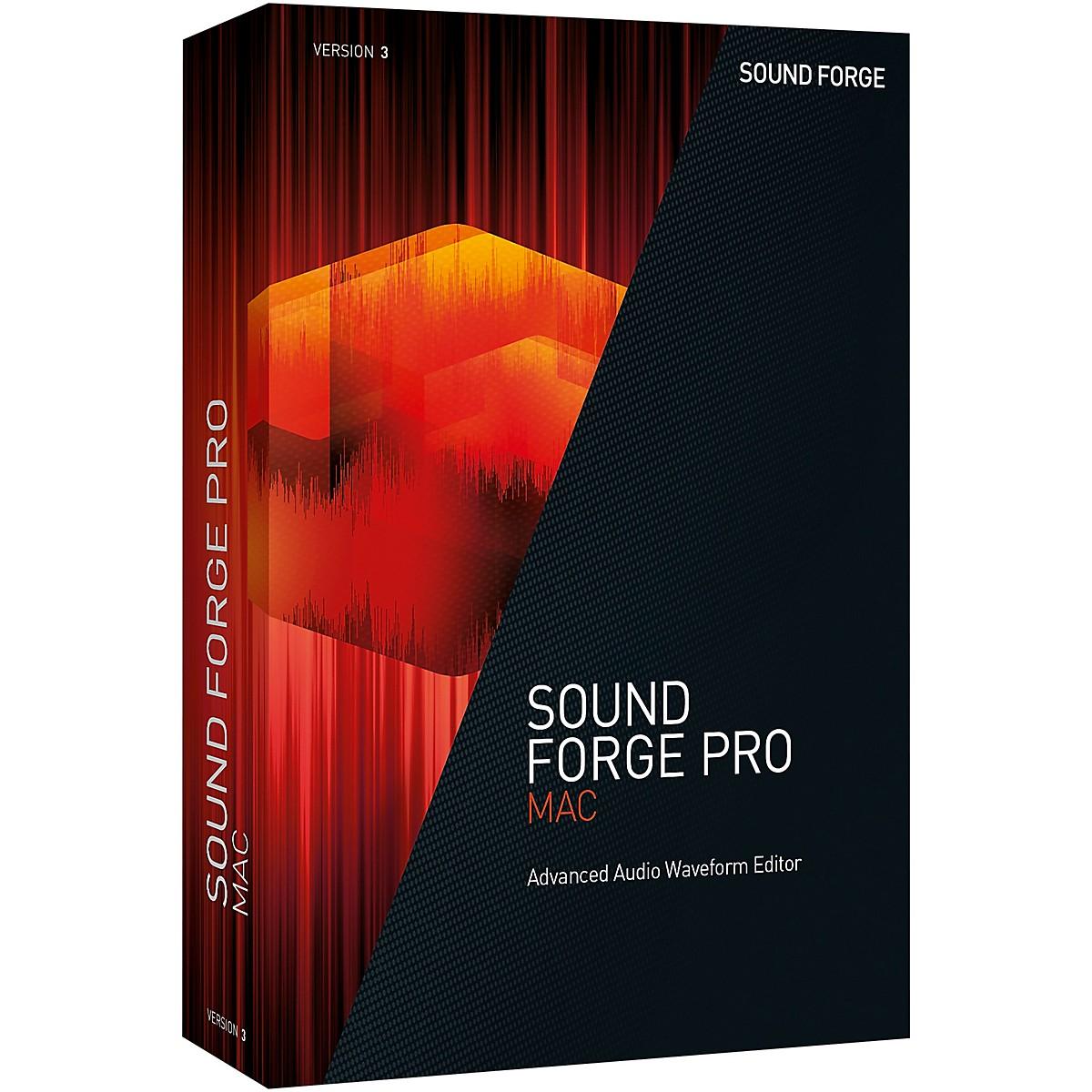 Magix SOUND FORGE Pro Mac 3 Upgrade