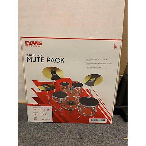 Evans SOUND OFF MUTE PADS Impact Badge