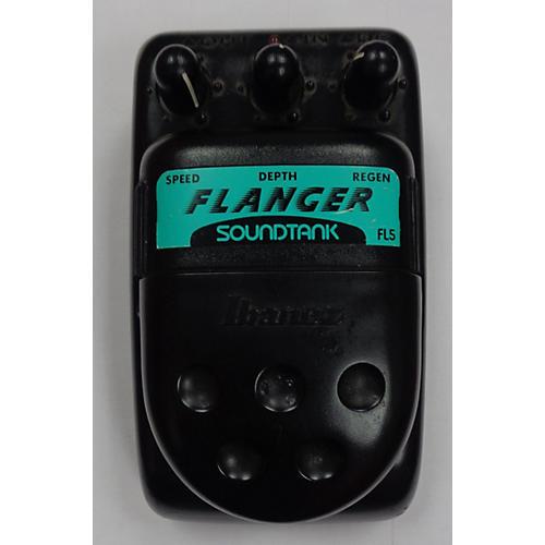 Ibanez SOUNDTANK FL5 FLANGER BLACK AND GREEN LABEL Effect Pedal