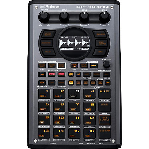 Roland SP-404MKII Creative Sampler and Effector