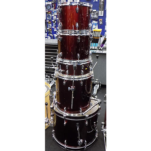 sound percussion labs sp drum kit drum kit midnight wine guitar center. Black Bedroom Furniture Sets. Home Design Ideas